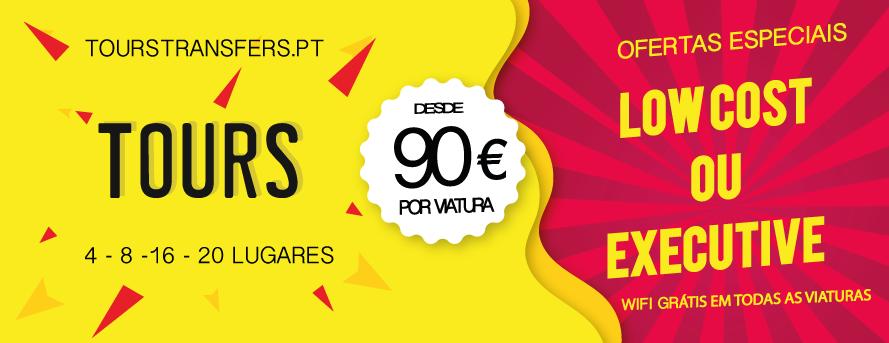 Lisboa Tours e Transfers desde 20€ - 4-8-16-20 lugares