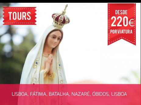 Tour Lisboa, Fátima, Batalha, Nazaré, Óbidos Lisboa