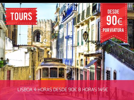 TOUR LISBOA 4 HORAS DESDE 90€ 8 HORAS 145€